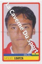 N°050 MIGUEL LOAYZA # BOLIVIA STICKER PANINI COPA AMERICA VENEZUELA 2007