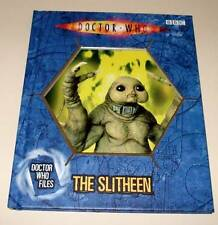 DOCTOR WHO Files : The SLITHEEN Hardback Book BBC 2006