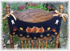 ~*PuMpKiN PaTcH*~Autumn Penny Rug Chair Swag & Windowsill Mat PATTERN!!!!