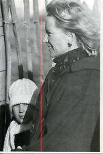 Princess Michael of Kent & Daughter Beaufort Hunt Badminton 1989 postcard