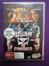 GHOST RIDER + HELLBOY + THE PUNISHER Region 4 DVD