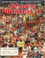 DIANA TAURASI LINDSAY WHALEN BEARD + SIGNED SPORTS ILLUSTRATED MARCH 22, 2004