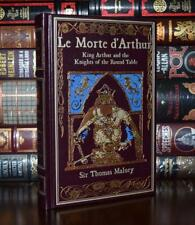 Le Morte d'Arthur by Thomas Malory King Arthur New Leather Bound Collectible