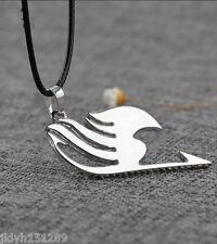 Anime Fairy Tail Inspired Boys Girls Alloy Pendant Necklace cosplay