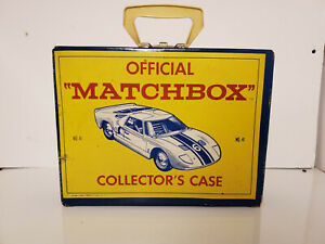 1966 Lesney Matchbox Case with Handle