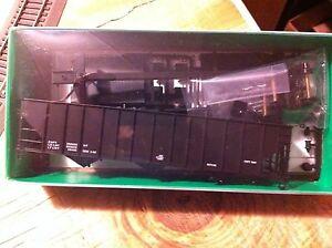 Bowser HO Scale 55142 100 Ton Triple Hopper Dim Data Black HH