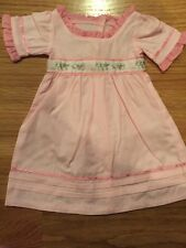 American Girl Doll Pink Dress Caroline New