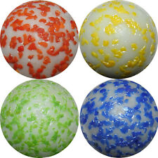 "4 x 25mm (1"") ASSORTED ""METEOR"" SHOOTER MARBLES - NEW"