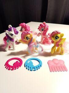 5x McDonalds Happy Meal Toys My Little Pony EUC