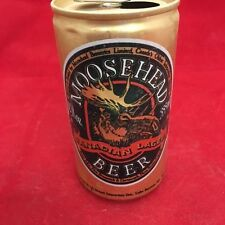 Moosehead Canadian Lager empty beer can, pop tab top, 12 oz