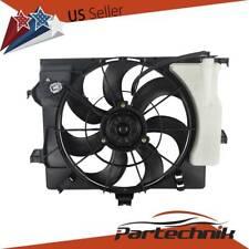 Radiator Cooling Fan Fit Hyundai Accent Veloster 12-15 Kia Rio 12-13