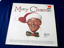 BING CROSBY~ MERRY CHRISTMAS~ IN SHRINK~ NEAR MINT~ DECCA ~POP~ NOVELTY LP