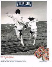 PUBLICITE ADVERTISING 035  2011  VILEBREQUIN  ST TROPEZ   caleçons de bain