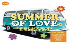 SUMMER OF LOVE 2CD ORIGINAL 60's Artists  Byrds Beach Boys Monkees Hollies.....
