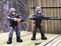 Figuras #3 & 4 de Mega Construx Call Of Duty Enemigo Soldados FVG04 Eje Tropas