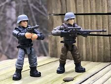 Figures #3 & 4 From MEGA CONSTRUX CALL OF DUTY ENEMY SOLDIERS FVG04  AXIS TROOPS