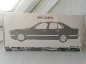 Minichamps BMW 535i blau 1:18