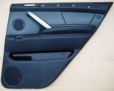 BMW Right Rear Door Trim/Card X5 E53 Schwarz