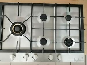 Asko natural Gas Cook top, Stainless Steel, new never used! 5 burners.