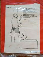 Heavy Duty Cooking Kitchen Restaurant Chef's Apron Vinyl Laminated To Cotton