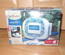 Spellbinders Sapphire  Die Cutting Machine Brand New