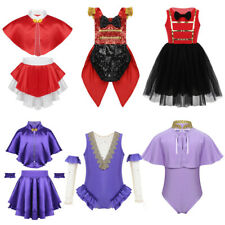 Girls The Greatest Show Ringmaster Fancy Dress Up Costume Kids Cosplay Party Set