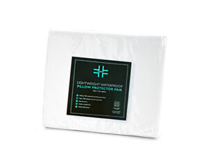 Medicare Incontinence Aid WATERPROOF PILLOW PROTECTORS Rustle Free Super-soft