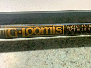 G. LOOMIS IMX SJR 721 6' 1-PIECE SPINNING ROD NICE USED G LOOMIS FISHING POLE