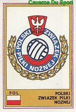 224 ECUSSON BADGE LOGO POLAND POLSKA STICKER EURO FOOTBALL 76 PANINI