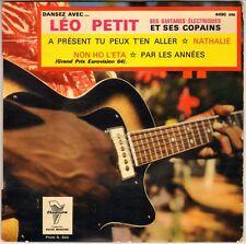 """LEO PETIT & SES GUITARES ELECTRIQUES """"DANSEZ AVEC"""" 60'S EP TRIANON 4490"""
