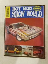 Vintage 1971 Hot Rod Show World Annual Magazine