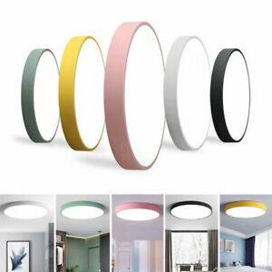 18-48W Ultraslim LED Deckenlampe Deckenleuchte Leuchte Wohnzimmer Küche Farbe