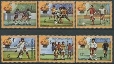 "LAOS N°400/405** Football ""Espana 82"" TB, 1982 Soccer world cup MNH"