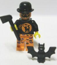 Lego® Figur Halloween-Zombie + Zubehör Helloween Minifig unbespielt new