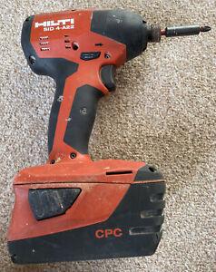 Hilti SID 4-A22 Cordless Impact Drill Driver - x1 5.2 Li-Ion Battery