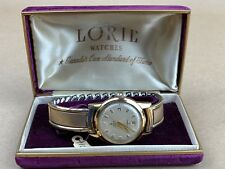 Lorie Automatic 17 jewels vintage Swiss watch with original Box - Very Clean