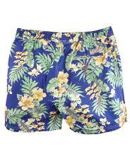 Scotch & Soda Blue & Green Floral Swim Shorts Size M Medium New with Tags