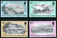 GUERNSEY 1982 OLD PRINTS SET OF ALL 4 COMMEMORATIVE STAMPS MNH (a)