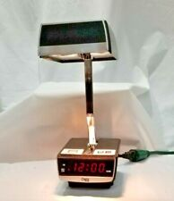 Vintage 1980s Cosmo Time Digital Alarm Clock & Folding Lamp Model 5500A *Tested