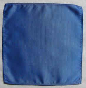 Hankie Pocket Square Handkerchief MENS Hanky ROYAL BLUE