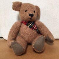Vintage B&D Original Handmade Artist Bear Pink Mohair Jointed Brown Bear AR51