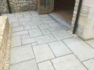 Paving,Olde Yorke Olive Green 10 sq/m Random sizes incl Delivery(some exceptions