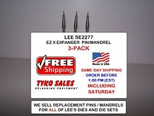 Lee Se2277-3 * Easy X Expander * For 30/06 and Other 30 Cal Die Sets * 3-Pk