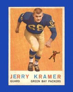 1959 Topps Set Break #116 Jerry Kramer VG-VGEX (crease) *GMCARDS*