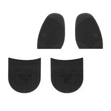 2Paire Semelle Antiderapant Talon de Chaussures en Caoutchouc Reparation Co