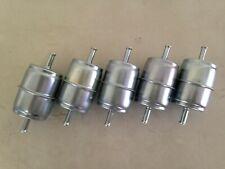 "FIVE(5) GKI GF68M 1/4"" Metal Inline Gas/Fuel Filter fits G1 33031 F20117"