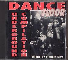 Dance Floor - Underground Compilation - CLAUDIO DIVA CD 1994 USATO OTTIME
