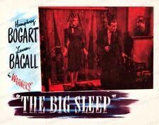 8x10 Print Humphrey Bogart Lauren Bacall The Big Sleep 1946 #Bigs
