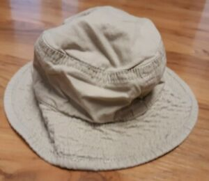 Boys 6-12 month sun hat with chin strap
