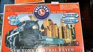 Lionel New York Central Flyer Train Set 6-21948 O Gauge In Box!
